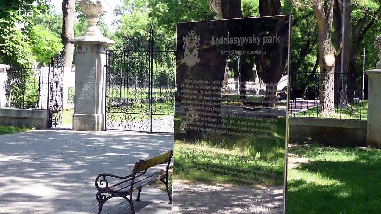 TREBIŠOV: Historický park v meste prešiel rozsiahlou rekonštrukciou