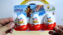 Αυγά Έκπληξη Kinder Joy Εποχή των Παγετώνων Surprise Eggs Ice Age Collision Course Edition