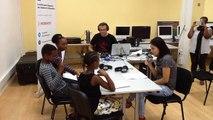 webradio enregistrement émission 2 - élèves école ancien théâtre