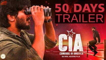 Comrade In America (CIA) | 50 Days Trailer  | Dulquer Salmaan | Amal Neerad  | Gopi Sundar