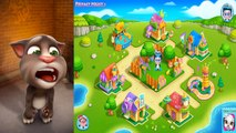 Talking Tom and Friends vs Baby Boss Care & Dress Up Cute Animations Ginger Ben Angela Gam