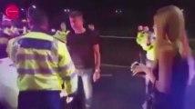 Ivre, il donne un coup de genou dans les parties intimes d'un policier et se retrouve KO (vidéo)