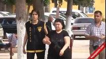 Savaş mağduru kadınlara fuhuş yaptıran kadın tutuklandı