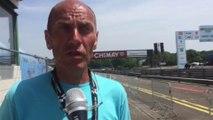 Jean Luc Vandenbroucke, l'organisateur du championnat de Belgique du chrono qui a lieu ce jeudi après midi à Chimay