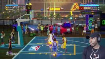 STEPHEN CURRY vs SETH CURRY RAINING 3S ONLINE! NBA Playgrounds Gameplay Ep. 13