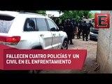 Emboscan a agentes federales en La Gavia, Guerrero