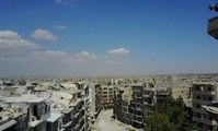 Des images de drone montrent les ruines d'Alep-Est