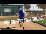 How to Find Your Timing - Baseball Hitting Tips
