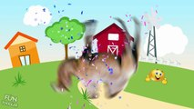 Farm Animals with Wrong Puzzles   Animals Farm for Kids   Fun Toddler Learn Animals
