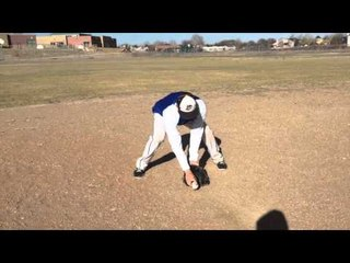 Baseball Fielding - Tips - Eye In Your Glove & Flat Back