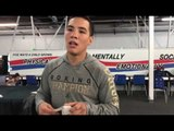 World Champ Oscar Valdez On Working Hard vs Not Training Hard - esnews boxing