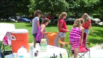 Kids Run Lemonade Stand to Raise Money for Families of Shooting Victims