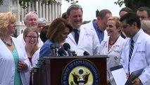 """Loi santé: médecins et démocrates redoutent le """"Trumpcare"""""""