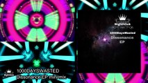 Drum and Bass Video mix 1000DAYSWASTED -  Dissonance EP mini mix Video -Neurofunk drum and bass DnB
