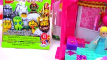Chelseas Birthday Party Fun Mini Barbie Doll Mega Bloks Playset with Lego Friends + Queen