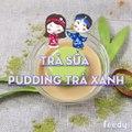 Cách làm Trà sữa Pudding trà xanh mịn mát, cực... - Con gái và những điều nhỏ xinh