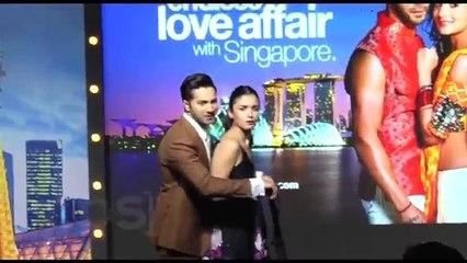 Alia Bhatt Oops Moment At Badrinath Ki Dulhania Promotional Event! - Full HD Quality