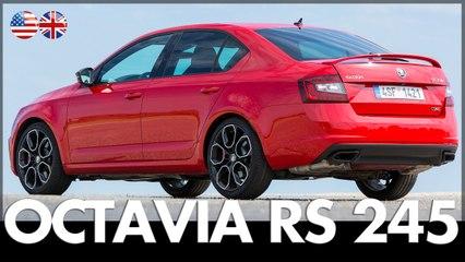Skoda Octavia RS 245 - Review & Drive 2017 | Drive Report | 245 hp | English