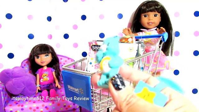 SURPRISE TOYS IN WALMART SHOPPING CART with AG Do