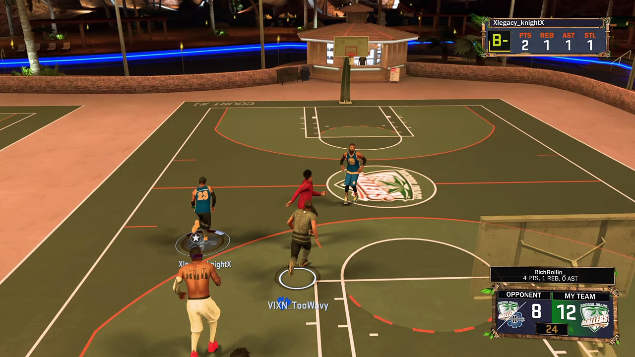 NBA 2K17 highlights 4