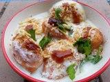 Dahi Bhalle | dahi bhalla recipe, how to make dahi bhalla papdi chaat recipe
