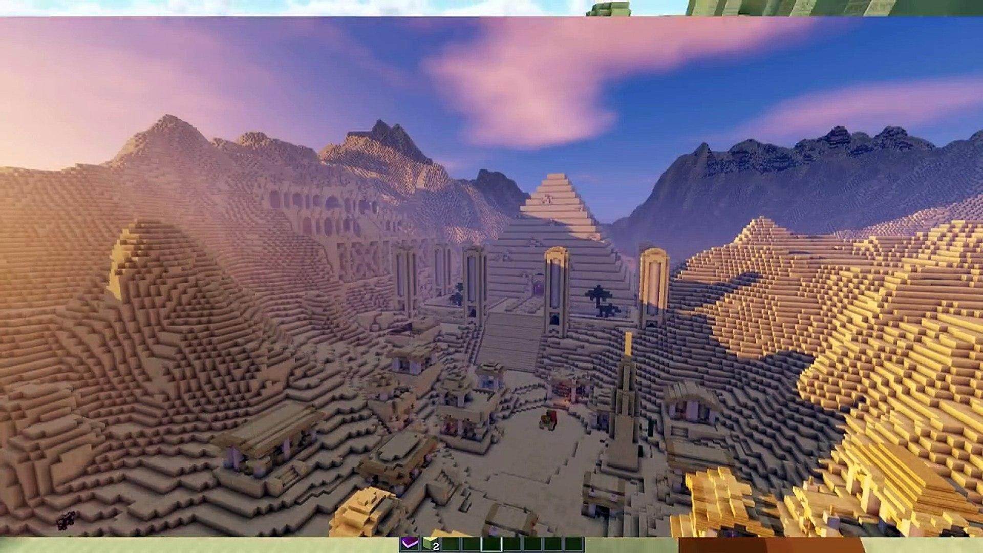 Портал в ДРЕВНИЙ ЕГИПЕТ! Без Модов! Minecraft 1.11.2