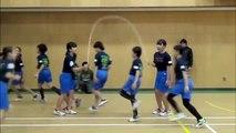 Ces jeunes japonais battent le record du monde de corde à sauter