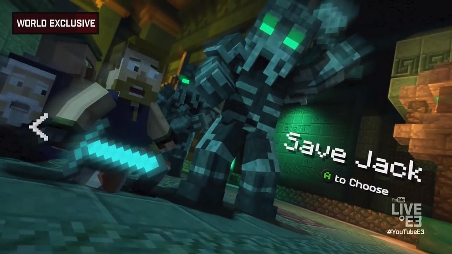 Minecraft Story Mode Season 2 Episode 1 First Gameplay Hero In