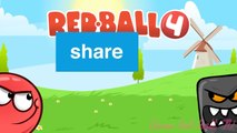 RED BALL 4 SpongeBob Ball Completed Box Factory with Boss Fight Level 31 45