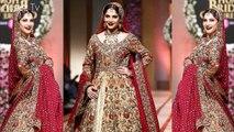 Neelam Muneer Looking Stunning in her Bridal Look at QHBCW