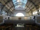 Pavillon Vertical, mur d'escalade au Pavillon de l'Arsenal