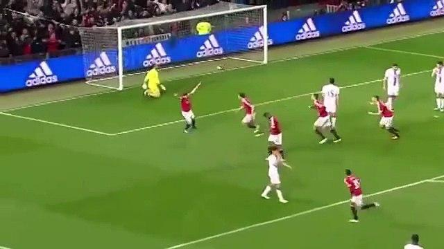 Gol di Matteo Darmian Manchester United-Crystal Palace