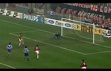 Gol indimenticabili Van Basten ● Milan - Goteborg 4-0 ● Champions League 9293