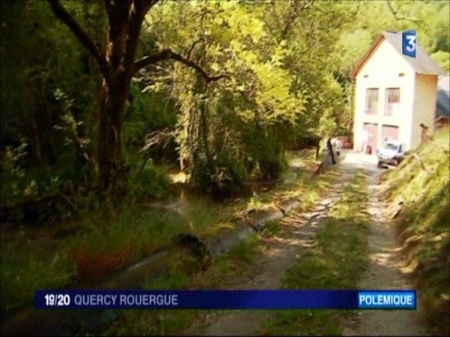france-3-quercy-rouergue-21-juin-2017- Ranimons la cascade entendue par la gendarmerie