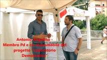 """Caivano, intervista ad Antonio Angelino membro del PD per la """"Festa democratica dell'unità"""""""