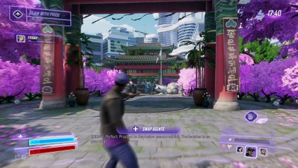 E3 Demo de Agents of Mayhem