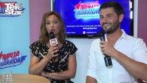 """Ninja Warrior : l'interview """"cap ou pas cap"""" de Sandrine Quétier et Christophe Beaugrand (video)"""