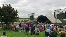 Glastonbury Festival holds minute's silence for UK tragedies