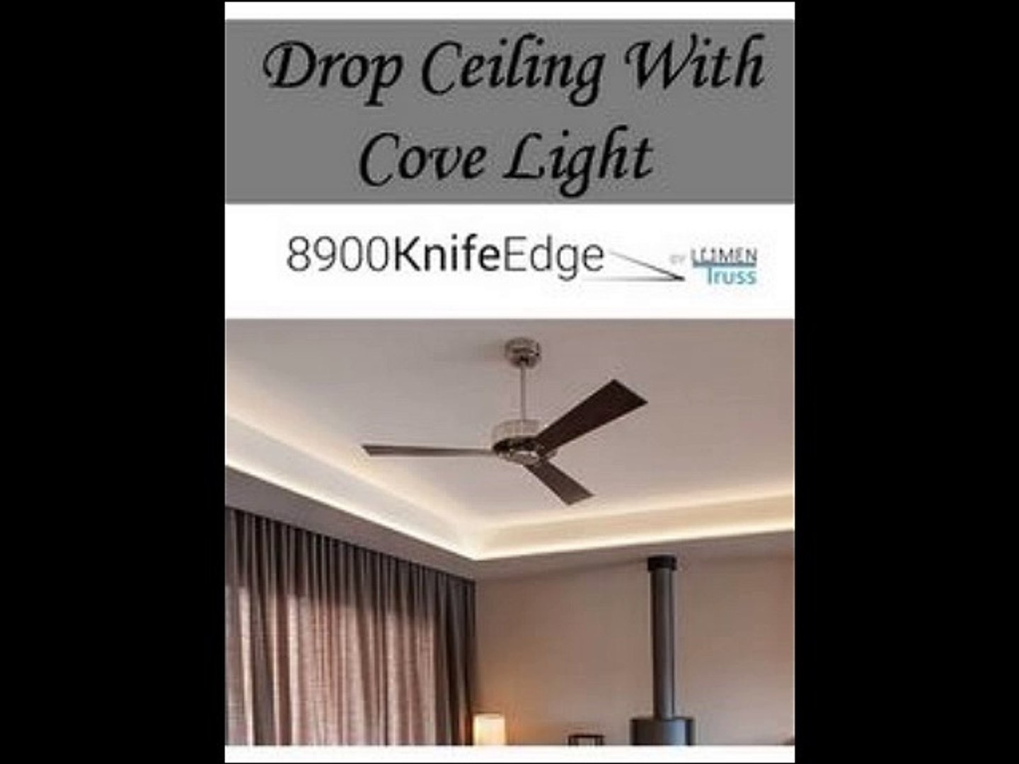 Drop Ceiling With Cove Light Video Dailymotion