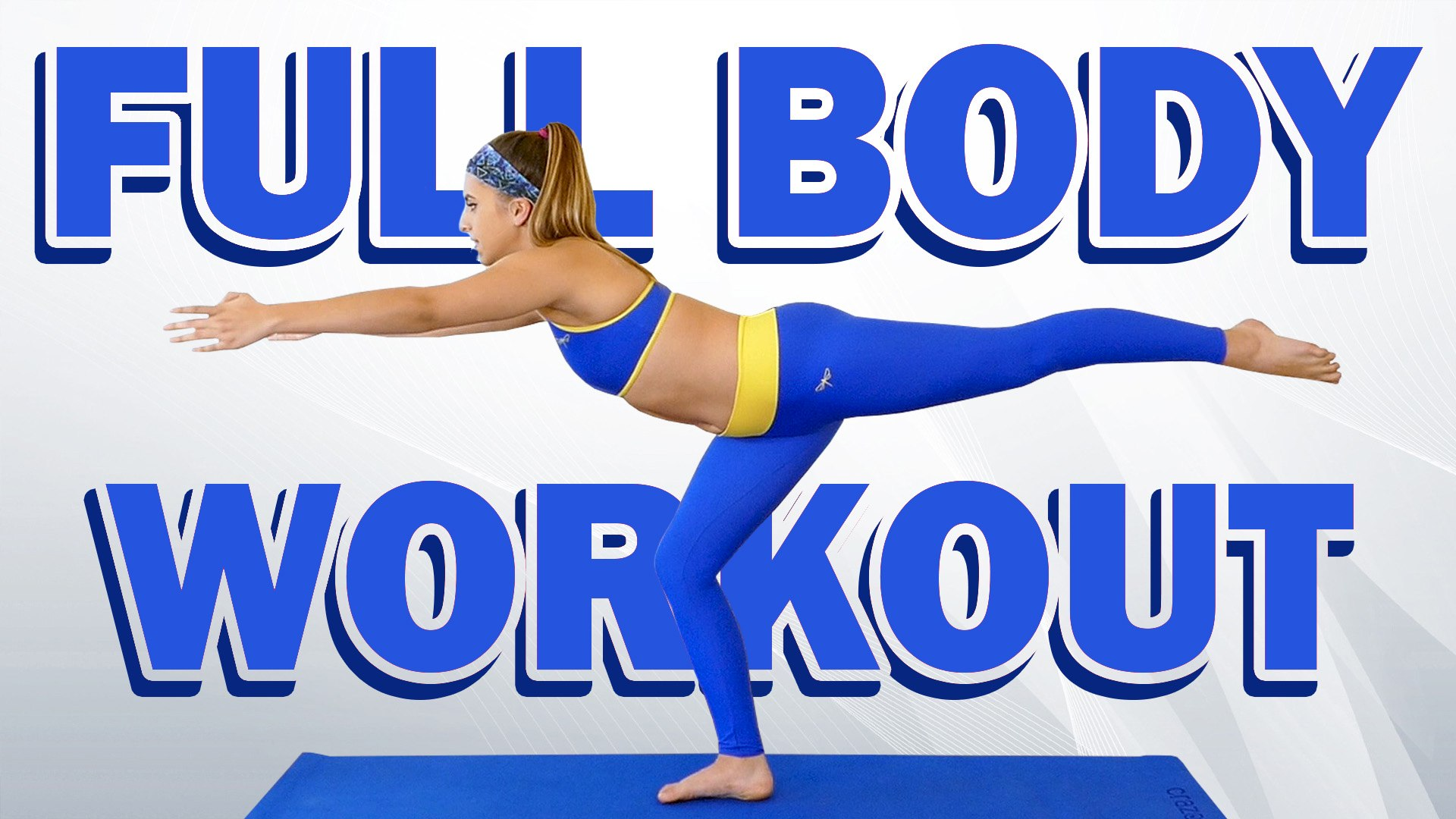 Flexible & Fit! Total Body Workout  & Flexibility Routine with Nico, Beginners At Home Exerc