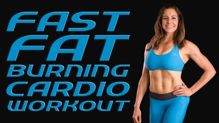 Get Fit Quick with Dani! Fat Burning HIIT Cardio Workout, Total Body Beginners Home Fitness