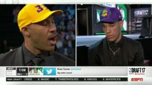 LaVar Ball's HILARIOUS Reaction to Lonzo Getting Drafted by the Lakers