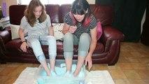 [ Challenge ] FEET SLIME . ou faire du slime avec les pieds !