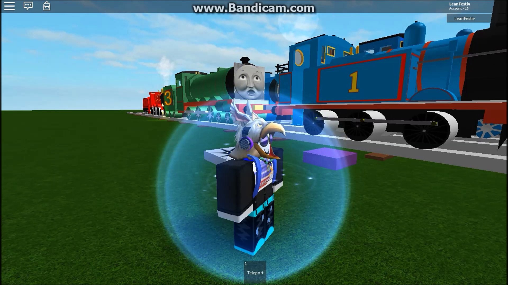 Roblox Thomas And Friends Shooting Thomas In Roblox Video Dailymotion