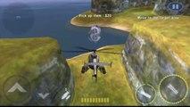 Androïde bataille canonnière hélicoptère Jeu 3D