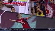 Goal HD - Sebastian Giovinco - Toronto FC 2-0 New England Revolution - MLS 24.06.2017