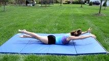 Comment à bâton débarquements dans gymnastique Tous les jours gymnastique