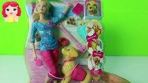 Orinal do caramelo formación allí pasado barbie perrito popó hace popó barbie lo recoge