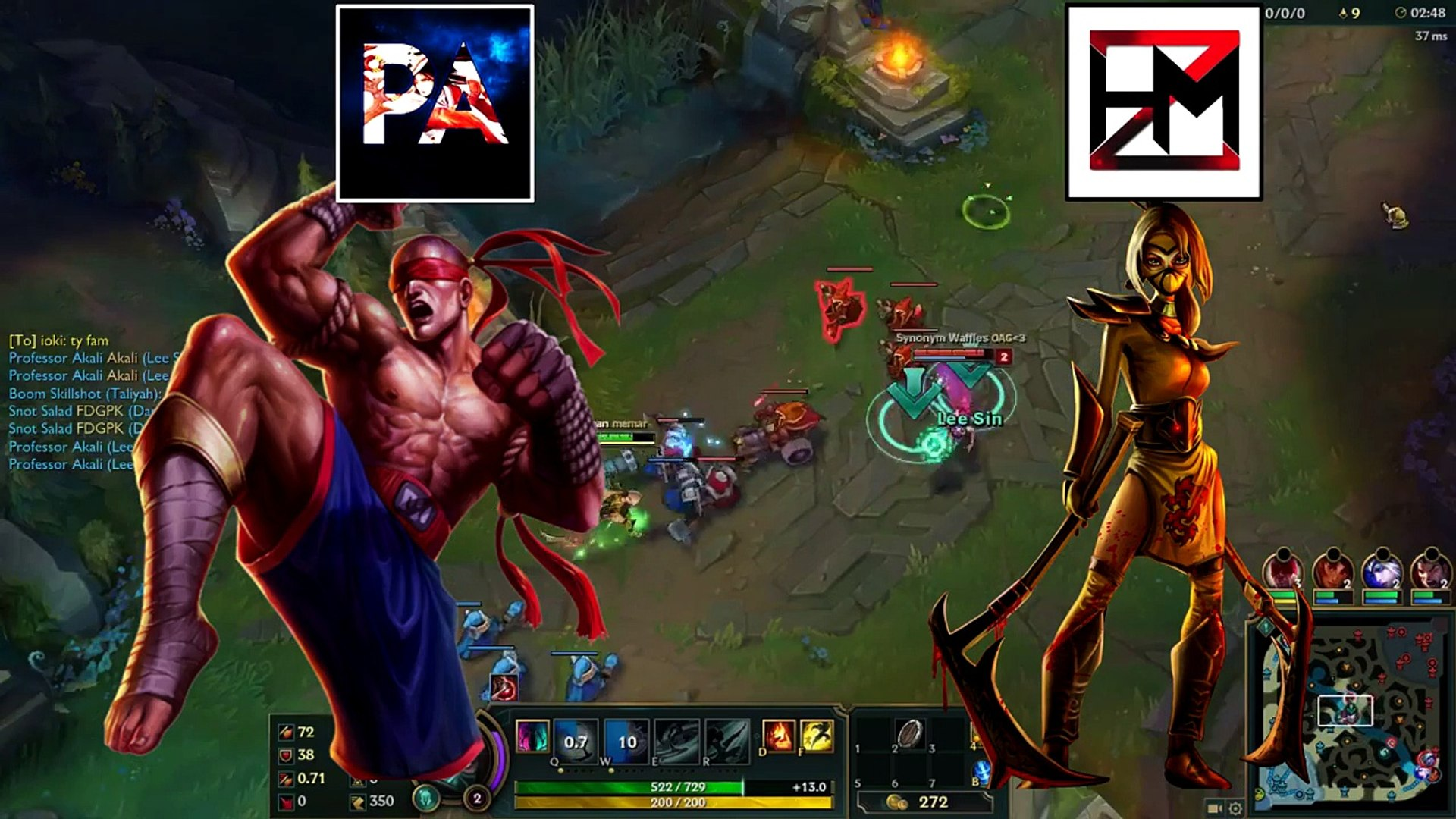WE SWITCHED MAINS | Heizman Akali and Professor Lee Sin OP League of Legends