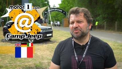 David nous présente sa Jeep Wrangler au Camp Jeep 2017